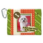 pet - Canvas Cosmetic Bag (XXL)