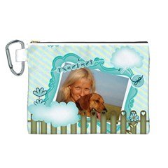 Pet By Pet    Canvas Cosmetic Bag (large)   Hz6hxa77qqxn   Www Artscow Com Front