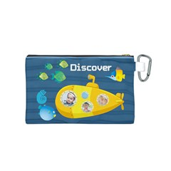 Kids By Kids   Canvas Cosmetic Bag (small)   6hvkhaq0g5wa   Www Artscow Com Back