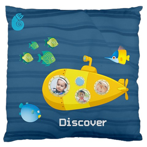Kids By Kids   Large Flano Cushion Case (one Side)   Zquybnbe3hv0   Www Artscow Com Front
