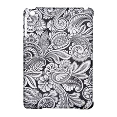 Floral Swirls Apple Ipad Mini Hardshell Case (compatible With Smart Cover) by odias