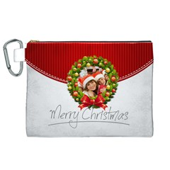 Xmas By Mac Book   Canvas Cosmetic Bag (xl)   E793fomehfol   Www Artscow Com Front