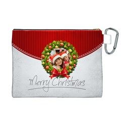 Xmas By Mac Book   Canvas Cosmetic Bag (xl)   E793fomehfol   Www Artscow Com Back