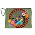 kids thank  - Canvas Cosmetic Bag (XL)