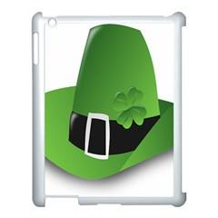Irish Shamrock Hat152049 640 Apple Ipad 3/4 Case (white) by Colorfulart23