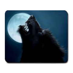 Werewolf Howl Large Mouse Pad (Rectangle) by KattsKreations