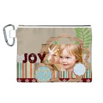 kids thank  - Canvas Cosmetic Bag (Large)