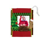 xmas - Drawstring Pouch (Medium)