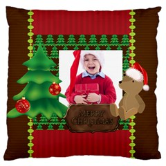 Xmas By Jacob   Large Flano Cushion Case (two Sides)   Okznmds5o1u3   Www Artscow Com Front