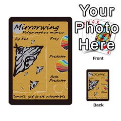 Darwin By Mikel Andrews   Multi Purpose Cards (rectangle)   9vc96cl127e6   Www Artscow Com Front 8