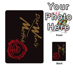Darwin By Mikel Andrews   Multi Purpose Cards (rectangle)   Xc6mxxv8kq62   Www Artscow Com Back 13