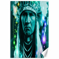 Magical Indian Chief Canvas 24  X 36  (unframed) by icarusismartdesigns