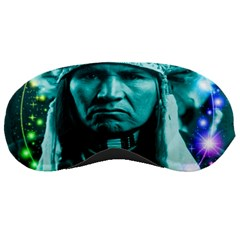 Magical Indian Chief Sleeping Mask by icarusismartdesigns