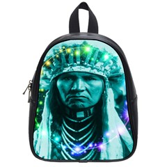 Magical Indian Chief School Bag (small) by icarusismartdesigns