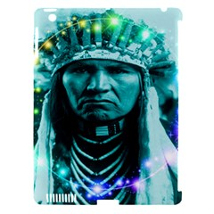 Magical Indian Chief Apple Ipad 3/4 Hardshell Case (compatible With Smart Cover)
