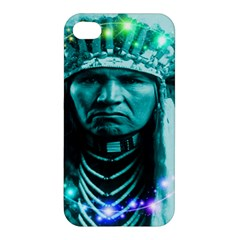 Magical Indian Chief Apple Iphone 4/4s Premium Hardshell Case by icarusismartdesigns