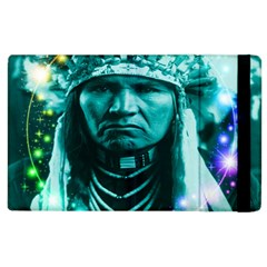 Magical Indian Chief Apple Ipad 2 Flip Case by icarusismartdesigns