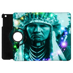 Magical Indian Chief Apple Ipad Mini Flip 360 Case by icarusismartdesigns