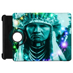 Magical Indian Chief Kindle Fire Hd Flip 360 Case