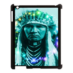 Magical Indian Chief Apple Ipad 3/4 Case (black) by icarusismartdesigns