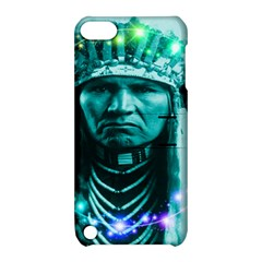 Magical Indian Chief Apple Ipod Touch 5 Hardshell Case With Stand by icarusismartdesigns