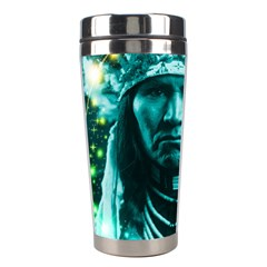 Magical Indian Chief Stainless Steel Travel Tumbler by icarusismartdesigns