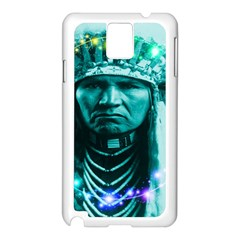 Magical Indian Chief Samsung Galaxy Note 3 N9005 Case (white) by icarusismartdesigns