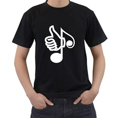 Like Music Men s T Shirt (black) by goodmusic