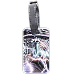 Solar Tide Luggage Tag (one Side) by icarusismartdesigns
