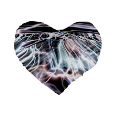Solar Tide 16  Premium Heart Shape Cushion  by icarusismartdesigns