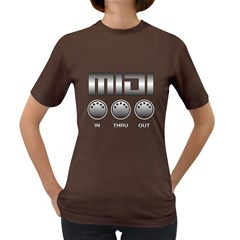 Midi Metal Women s T Shirt (colored) by goodmusic