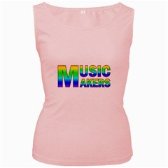 Music Makers(vt) Women s Tank Top (pink) by goodmusic