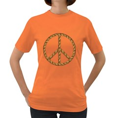 Peace,love,music Rope Women s T Shirt (colored) by goodmusic