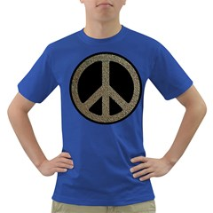 Peace,love,music Rusty Sign Men s T Shirt (colored) by goodmusic