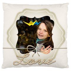 Love By Ki Ki   Large Flano Cushion Case (two Sides)   15q9vlz7m83h   Www Artscow Com Back