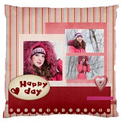 Love By Ki Ki   Large Flano Cushion Case (two Sides)   Ilsoma2gh07k   Www Artscow Com Front
