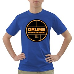 Drums Professional Men s T Shirt (colored) by goodmusic