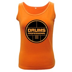 Drums Professional Women s Tank Top (Dark Colored) by goodmusic