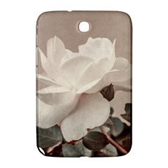 White Rose Vintage Style Photo In Ocher Colors Samsung Galaxy Note 8 0 N5100 Hardshell Case  by dflcprints