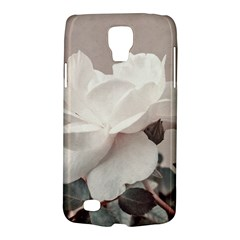 White Rose Vintage Style Photo In Ocher Colors Samsung Galaxy S4 Active (i9295) Hardshell Case