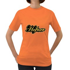 Hofner Guitars Vintage Gold  Women s T Shirt (colored) by goodmusic