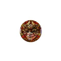 Star Clown 1  Mini Button Magnet by icarusismartdesigns