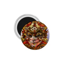 Star Clown 1 75  Button Magnet by icarusismartdesigns