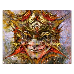 Star Clown Jigsaw Puzzle (rectangle) by icarusismartdesigns