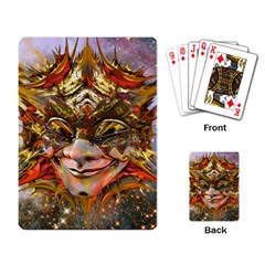 Star Clown Playing Cards Single Design by icarusismartdesigns