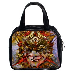 Star Clown Classic Handbag (two Sides) by icarusismartdesigns