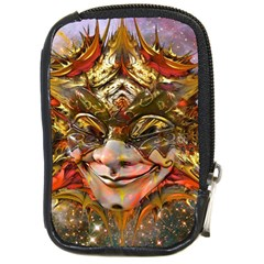 Star Clown Compact Camera Leather Case by icarusismartdesigns