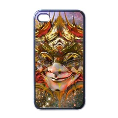 Star Clown Apple Iphone 4 Case (black) by icarusismartdesigns