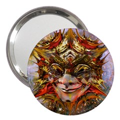 Star Clown 3  Handbag Mirror by icarusismartdesigns