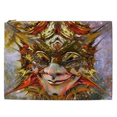 Star Clown Cosmetic Bag (xxl) by icarusismartdesigns